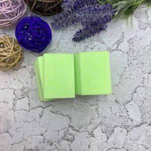 Салфетки безворсовые Твёрдые (упаковка 220шт.) Салатовые