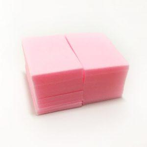 Салфетки безворсовые Твёрдые (упаковка 220шт.) Розовые