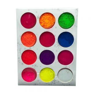 Набор цветных пигментов 12шт.