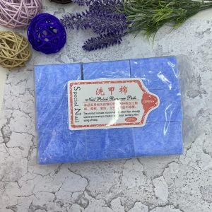 Салфетки безворсовые Твёрдые (упаковка 1000 шт.) Голубой