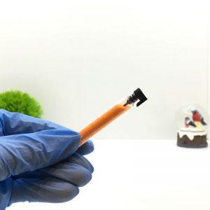 Блёстки для ногтей (оранжевый) 1 шт.