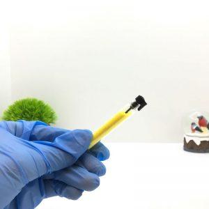 Блёстки для ногтей (светло-жёлтый) 1 шт.