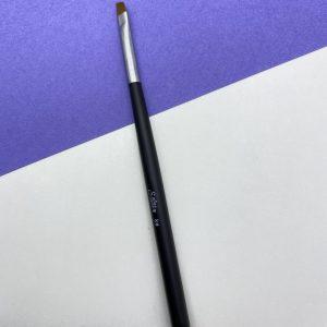 Кисть «Soline Charms» скошенная — черная ручка №6