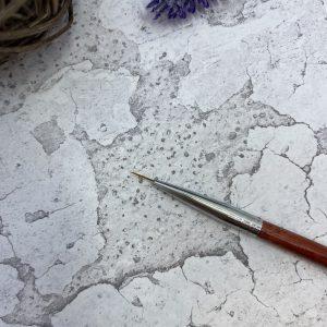 Кисть «Soline Charms» волосок — коричневая ручка 9 мм