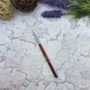 Кисть «Soline Charms» волосок — коричневая ручка 7 мм