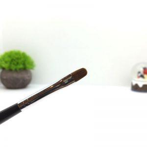 Кисть для работы с гелем Soline Charms черная ручка №8