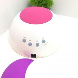Лампа UV/LED «SC» 48 вт гибрид «SUN 2» Soline Charms — белая