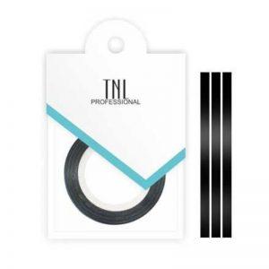 Нить на клеевой основе (черная) для дизайна ногтей 1 мм