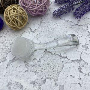 Щетка для удаления пыли круглая (прозрачная)