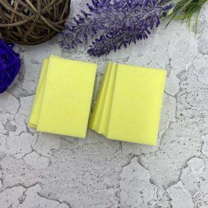 Салфетки безворсовые Твёрдые (200 шт.) Жёлтые