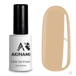 Гель-лак Akinami Color Gel Polish 003, 9 мл