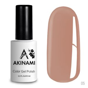 Гель-лак Akinami Color Gel Polish 005, 9 мл