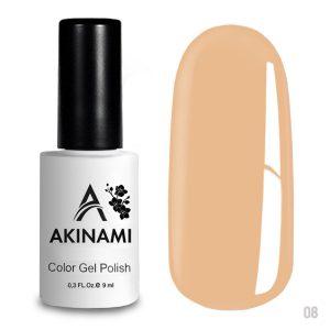 Гель-лак Akinami Color Gel Polish 008, 9 мл