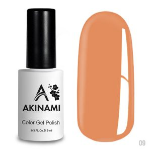 Гель-лак Akinami Color Gel Polish 009, 9 мл