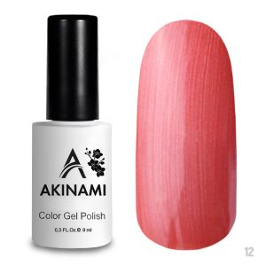 Гель-лак Akinami Color Gel Polish 012, 9 мл