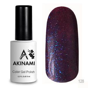Гель-лак Akinami Color Gel Polish 128, 9 мл