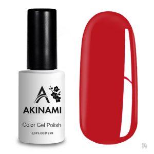Гель-лак Akinami Color Gel Polish 014, 9 мл