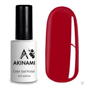 Гель-лак Akinami Color Gel Polish 017, 9 мл