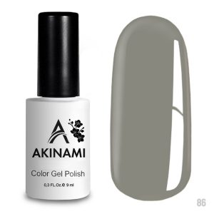 Гель-лак Akinami Color Gel Polish 086, 9 мл