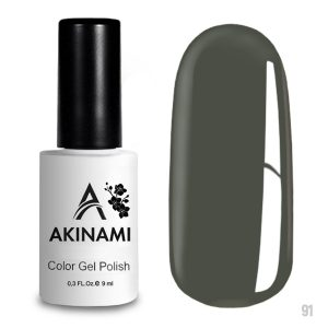 Гель-лак Akinami Color Gel Polish 091, 9 мл