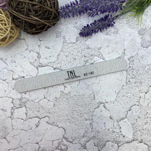 TNL Пилка для ногтей узкая 80/180