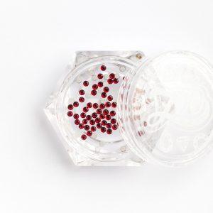 Стразы стеклянные Siam SS3 (1,3 мм) 100 штук