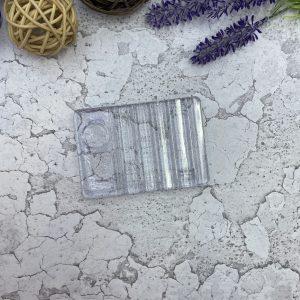 Подставка под кисти с палитрой (прозрачная)