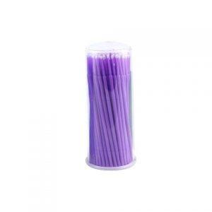Микробраши (фиолетовые) 100 шт.