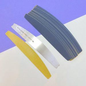 STALEKS. Пилка металлическая полумесяц (основа) EXPERT 40