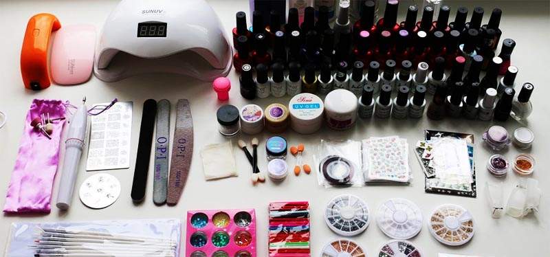 как выбрать и где купить средства для ногтей начинающему мастеру