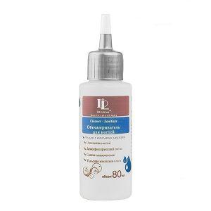 De Lakrua, Обезжириватель для ногтей Cleaner — sanitizer, 80 мл