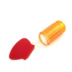 Штамп для стемпинга рифленый TNL — прозрачно оранжевый