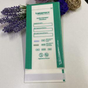 Пакет для стерилизации прозрачный 100*200 «Медтест» ПСПВ (10 штук)