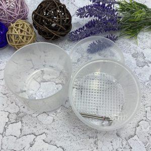Контейнер-стерилизатор для фрез – матовый белый