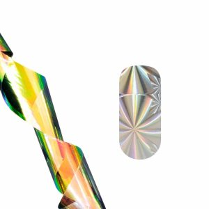 Фольга для литья (серебряная абстракция) NEW