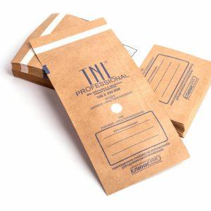 Крафт-пакеты для стерилизации инструментов TNL 75*150 мм (100 шт./уп.)