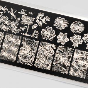 Пластина для стемпинга TNL Premium — florist (081)