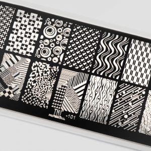 Пластина для стемпинга TNL Premium — texture (101)