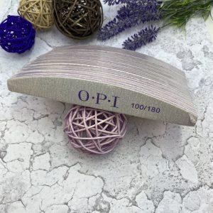 Пилка для ногтей  OPI «лодочка» 100/180 (25 штук)
