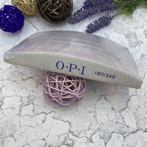 Пилка для ногтей  OPI «лодочка» 180/240 (25 штук)