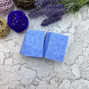 Салфетки безворсовые Твёрдые (упаковка 220 шт.) Голубой