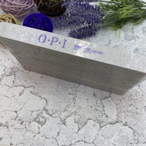 Пилка для ногтей  «OPI» тонкая 100/180 (50 штук)