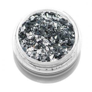 Слюда цветная «TNL» — серебряная
