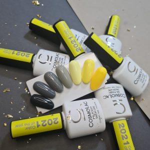 Гель-лак Cosmolac Gel polish №251 Zinc yellow