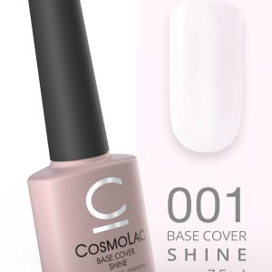 База камуфлирующая с шиммером CosmoLac Base Cover Shine №1