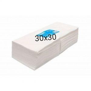 Одноразовые полотенца 30*30 (50 штук)
