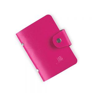 Кейс-органайзер для стемпинга TNL ярко-розовый